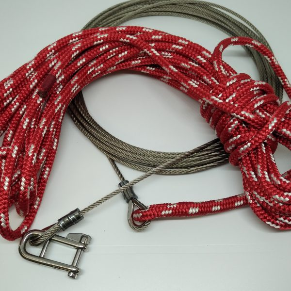 Main Halyard – wire and rope | Masthead Spars & Rigging